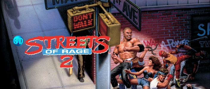 3D Streets of Rage 2, Covermotiv