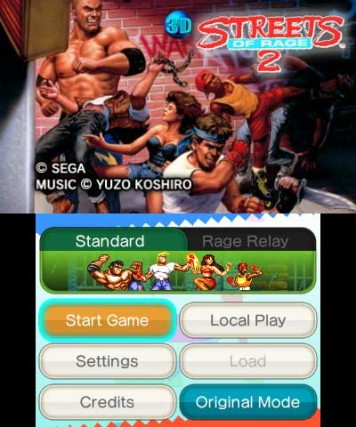 3D Streets of Rage 2, Screenshot #1