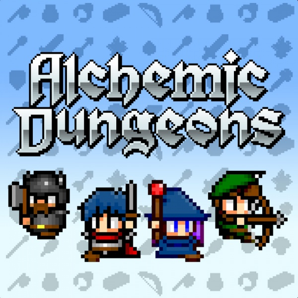 Alchemic Dungeons, Covermotiv