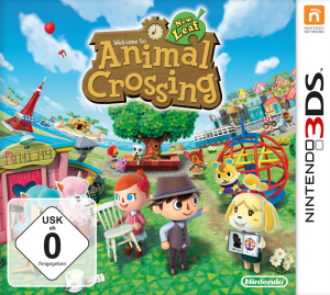 Animal Crossing: New Leaf, Covermotiv/Artwork