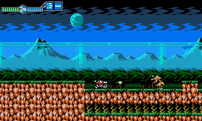 Blaster Master Zero, Screenshot #1