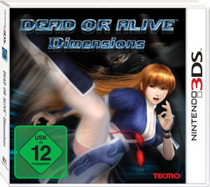 Dead or Alive Dimensions, Covermotiv/Artwork