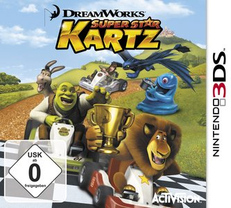 DreamWorks Super Star Kartz, Covermotiv
