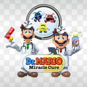 Dr. Mario: Miracle Cure, Covermotiv/Artwork