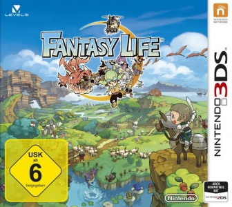 Fantasy Life, Covermotiv/Artwork