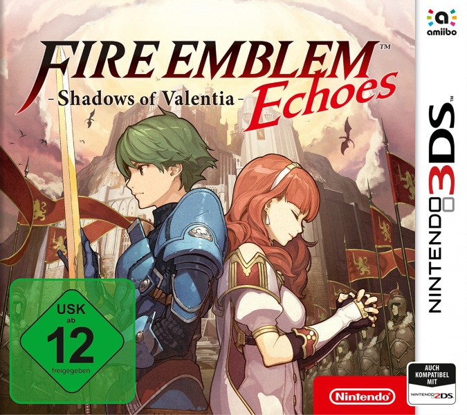Fire Emblem Echoes: Shadows of Valentia, Covermotiv