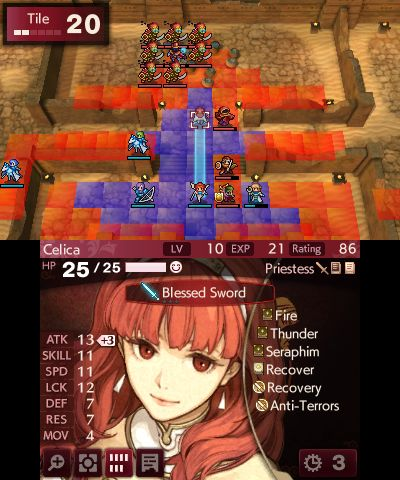 Fire Emblem Echoes: Shadows of Valentia, Screenshot #2