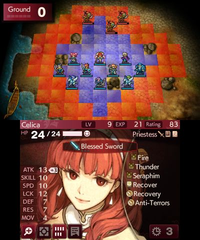 Fire Emblem Echoes: Shadows of Valentia, Screenshot #4