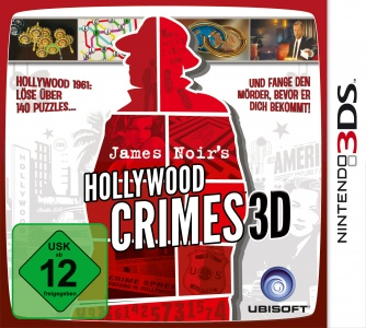James Noir's Hollywood Crimes 3D, Covermotiv/Artwork