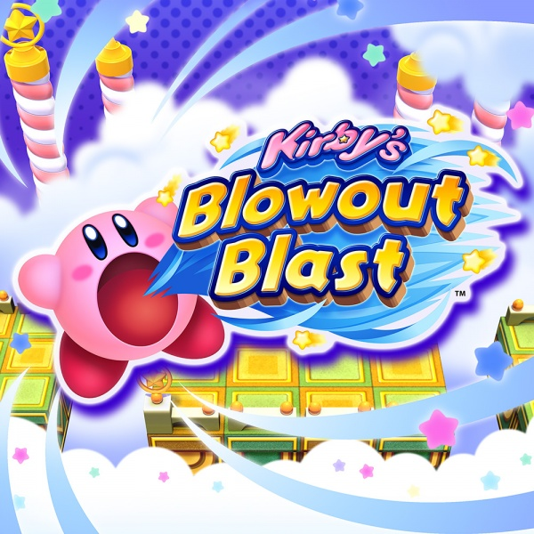 Kirby's Blowout Blast, Covermotiv/Artwork