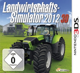 Landwirtschafts-Simulator 2012 3D, Covermotiv/Artwork