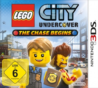 LEGO City Undercover: The Chase Begins, Covermotiv/Artwork
