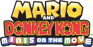 Mario and Donkey Kong: Minis on the Move, Covermotiv