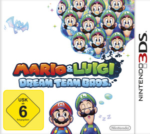 Mario & Luigi: Dream Team Bros., Covermotiv/Artwork