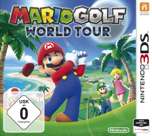 Mario Golf: World Tour, Covermotiv