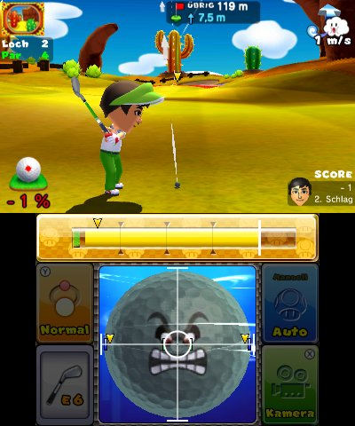 Mario Golf: World Tour, Screenshot #3