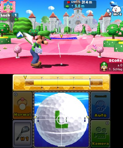 Mario Golf: World Tour, Screenshot #4