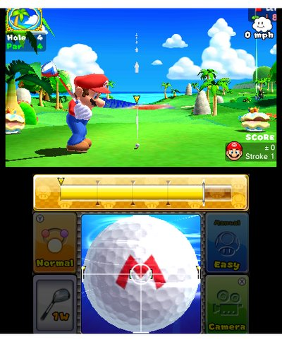 Mario Golf: World Tour, Screenshot #6