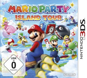 Mario Party: Island Tour, Covermotiv/Artwork