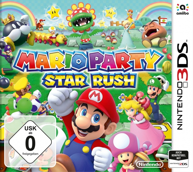 Mario Party: Star Rush, Covermotiv