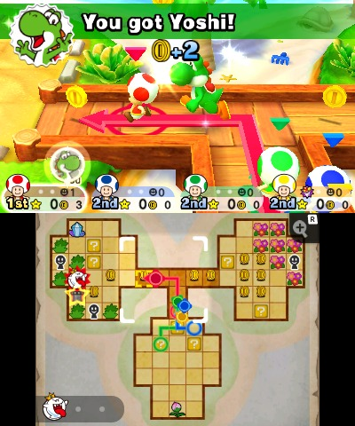 Mario Party: Star Rush, Screenshot #2