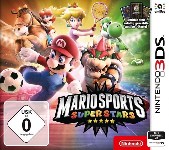 Mario Sports Superstars, Covermotiv