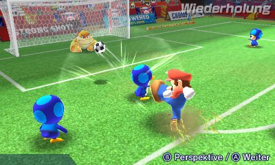 Mario Sports Superstars, Screenshot #3