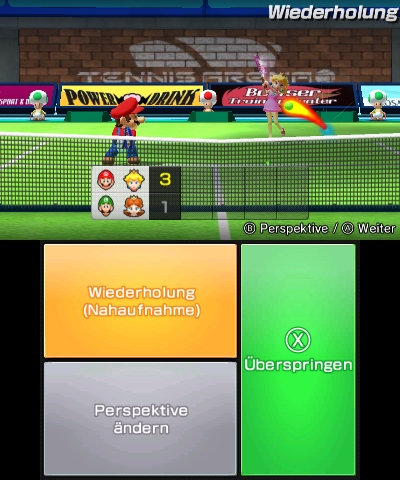 Mario Sports Superstars, Screenshot #6