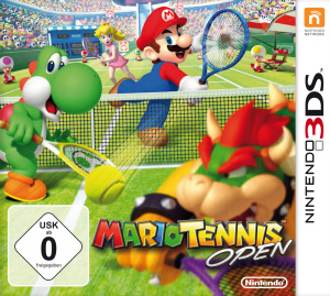 Mario Tennis Open, Covermotiv/Artwork