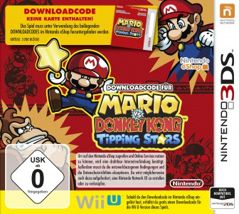 Mario vs. Donkey Kong: Tipping Stars, Covermotiv/Artwork