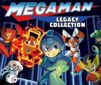 Mega Man Legacy Collection, Covermotiv/Artwork