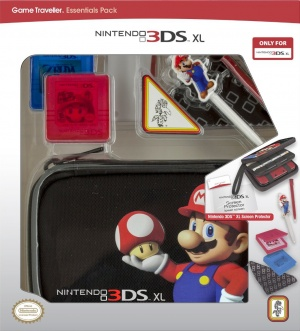 Nintendo 3DS XL Game Travellers Essentials Pack, Covermotiv