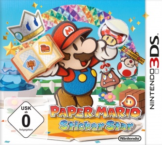 Paper Mario: Sticker Star, Covermotiv