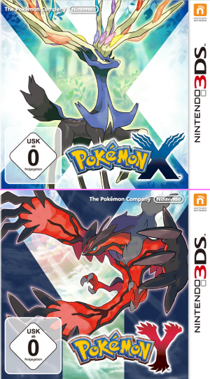 Pokémon X & Pokémon Y, Covermotiv/Artwork