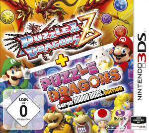 Puzzle & Dragons Z + Puzzle & Dragons: Super Mario Bros. Edition, Covermotiv