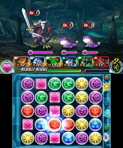 Puzzle & Dragons Z + Puzzle & Dragons: Super Mario Bros. Edition, Screenshot #4