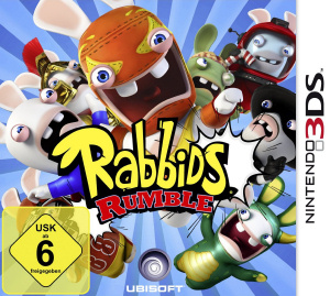 Rabbids Rumble, Covermotiv/Artwork