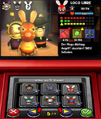Rabbids Rumble, Screenshot #1