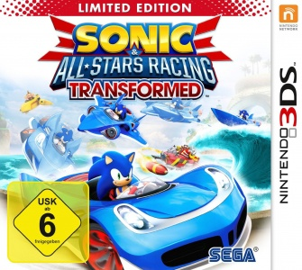 Sonic & All-Stars Racing Transformed, Covermotiv/Artwork