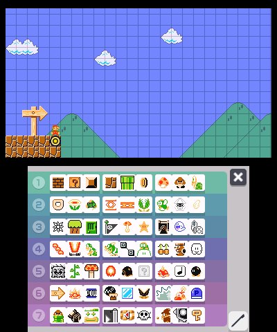 Super Mario Maker for Nintendo 3DS, Screenshot #1