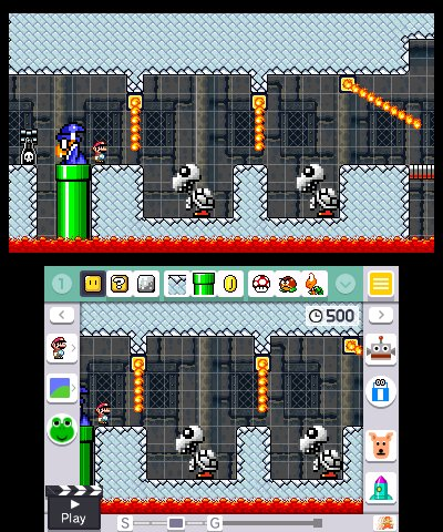 Super Mario Maker for Nintendo 3DS, Screenshot #3
