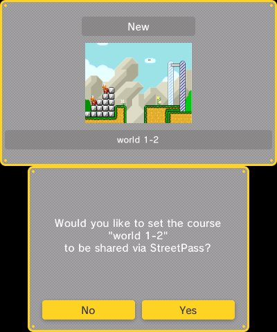 Super Mario Maker for Nintendo 3DS, Screenshot #6