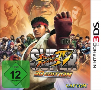 Super Street Fighter IV 3D Edition, Covermotiv