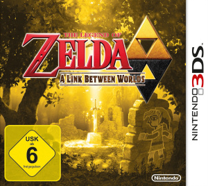 The Legend of Zelda: A Link between Worlds, Covermotiv/Artwork