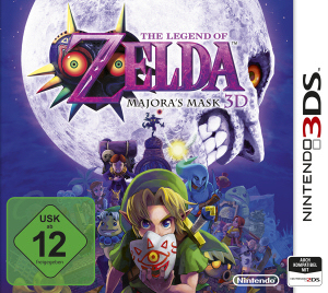 The Legend of Zelda: Majora's Mask 3D, Covermotiv/Artwork