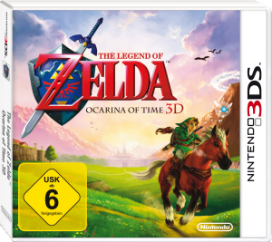 The Legend of Zelda: Ocarina of Time 3D, Covermotiv/Artwork