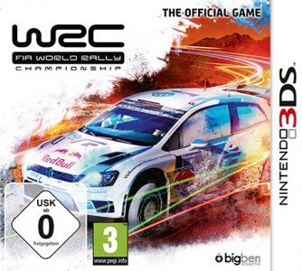 WRC FIA World Rally Championship The Official Game, Covermotiv/Artwork