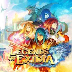 Legends of Exidia, Covermotiv/Artwork