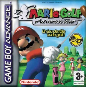 Mario Golf: Advance Tour, Covermotiv