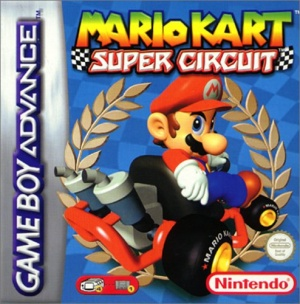 Mario Kart: Super Circuit, Covermotiv